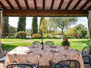 3 bedroom Apartment in Popoltaio-Schiacciato, Umbria, Italy : ref 5606844