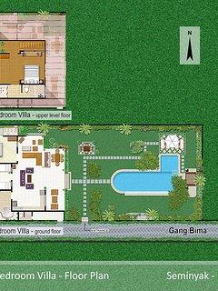 Villa One - 3 Bedroom Pool Villa