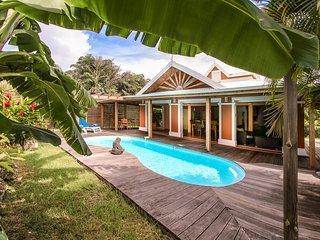 'Villa Piment Bleu St-Francois', piscine privee, a proximite des plages