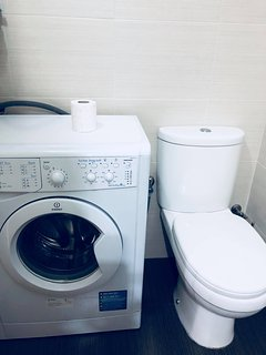 washing machine available too