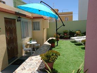 Terraza privada, para tomar el sol.