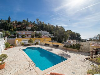 House with garden and pool in Malaga