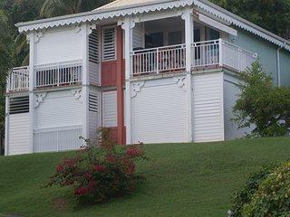 Studio avec vue sur mer et sur l'île de Marie Galante