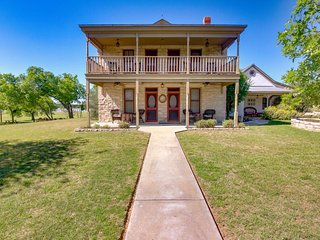 Historic Hill Country home w/ spacious private balcony, full kitchen, and more