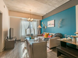 Stylish 1br/1ba | Ritt Sq | Center City