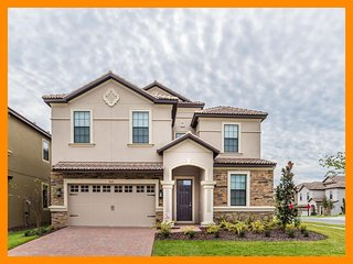 Championsgate 212 - villa near Disney with private pool,game room and home theat