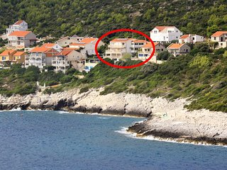Four bedroom apartment Zavalatica, Korcula (A-9150-a)