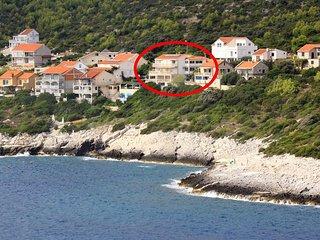 Four bedroom apartment Zavalatica, Korčula (A-9150-a)