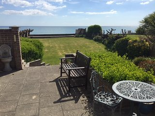 Step onto the Beach from 7 Aldwick Avenue, garden