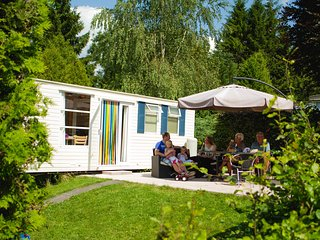 Luxury mobile homes in the Belgian Ardennes