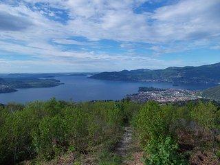 casa Glicine sulle alture del Lago Maggiore