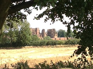 View of Kenilworth castle from the Shepherd's Hut