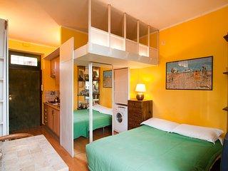 Roma Trastevere centro: mini appartamento di charme completamente attrezzato.