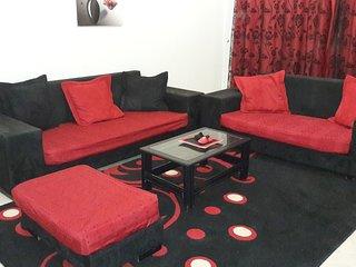 Spacieux appartement tres moderne richement meuble