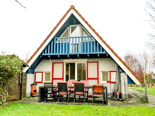 6 pers. house close to the national park Lauwersmeer