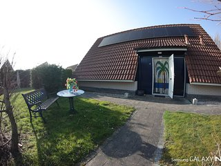 4 pers. fully equipped holiday home, close to the national park Lauwersmeer