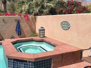 Walled 3BR La Quinta Retreat w/ Private Pool, Hot Tub, & Patio