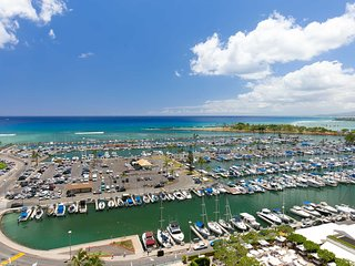 Ilikai1504 Ocean / Sunset / Marina Views 2 Double Beds, Sofa Bed