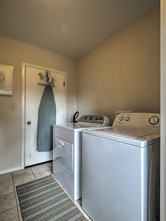 Clothes will stay fresh & clean with these in-unit laundry machines.