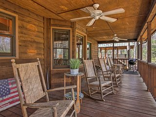 Up to 8 guests will love spending time on the massive deck.