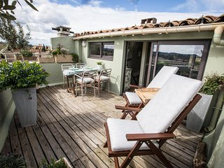 Maison 1888 - town house with roof terrace with stunning medieval cite view