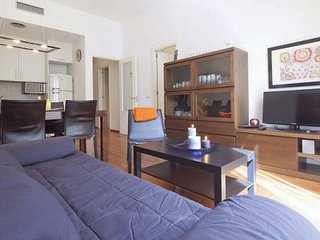 Stay in the heart of Barcelona. Steps from Plaza Catalunya, Las Ramblas and more