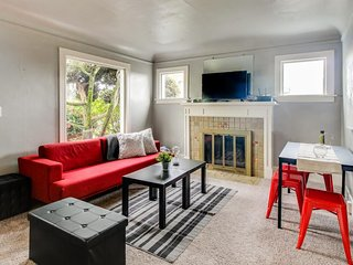 Stylish home with convenient north Seattle location - great outdoor space!