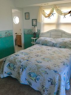 Bedroom 3 with queen bed & private bath
