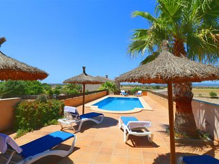 VILLA AIA is furnished typical Majorcan.