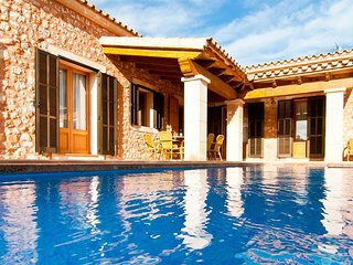 VILLA MATES with private pool, garden and several terraces.
