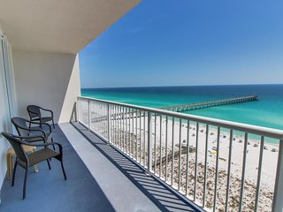 Sunny & bright, waterfront condo w/ Gulf views plus shared pool & hot tub