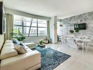 Sextant's Brickell Condo--3-bedroom * Conrad Hilton 10 minutes to South Beach