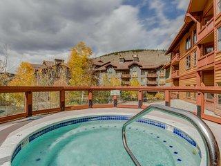Cozy, modern condo w/ shared hot tub & sauna - views of the Village