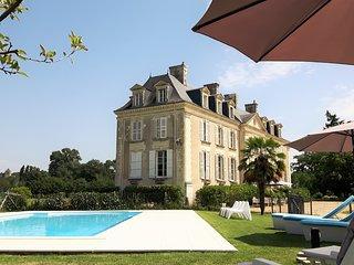 BnB Château La Mothaye - Loire Valley - chambre Melrose