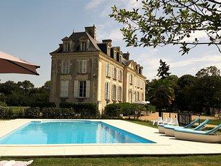 BnB Chateau La Mothaye - Loire Valley - chambre Melrose