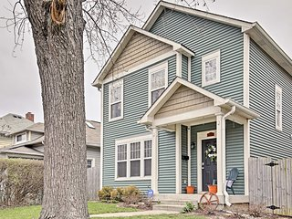 NEW! Downtown Indianapolis Home w/ Large Yard!