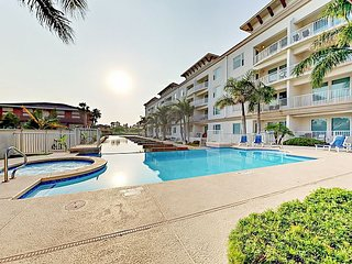 Canal-Front 3BR Las Marinas Condo w/ Private Boat Slip, Infinity Pool & Spa