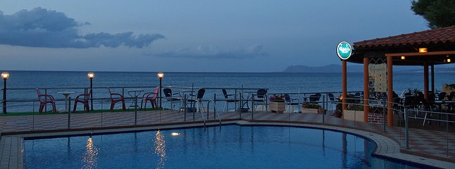 Free use of swimming pool and beach of Girogiali hotel (10 meters away)