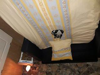 Homestay guest room in Saint-Sauveur-en-Rue, at Gerard's place