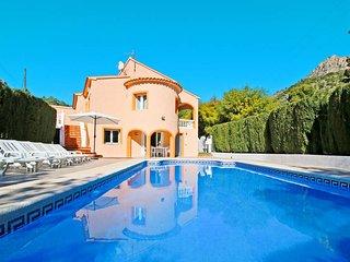 6 bedroom Villa in Calpe, Valencia, Spain : ref 5435361