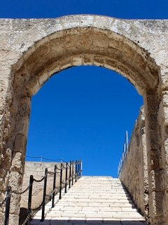 No admission for entry at Monopoli's 16th Century castle