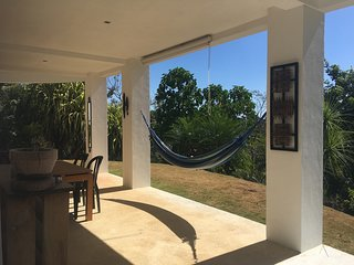Treetop Guest Suite at Casa Dakini in Montezuma. Wildlife abounds!