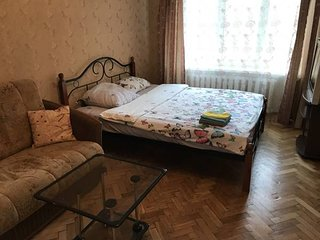 Apartment near Park Pobedy