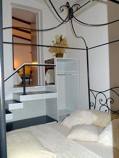 Bed room2  apartment Romantic