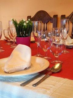 Comedor, para disfrutar de una estupenda comida en familia