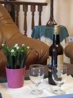 Salón para disfrutar del placer del descanso