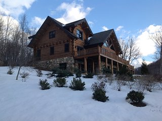 Luxury Log Home in Blue Ridge