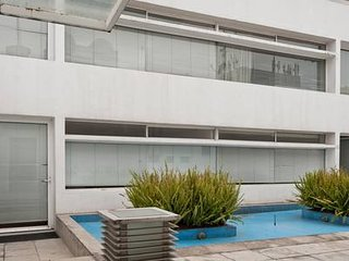 B Luxury in San Angel - 2BR/3BA 1 King , 2 Twin