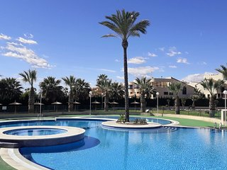 Two bedroom seafront apartment with sea-views in Calas de Cabo Roig
