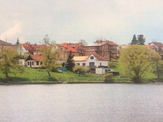 Unique Lake House in the Czech Republic, Dobris near Prague